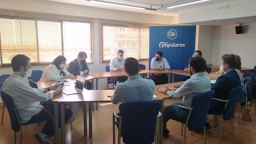 Comité Organizador del Congreso del PP de Almería.