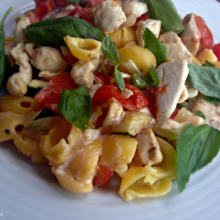Sweet Chilli Chicken Pasta
