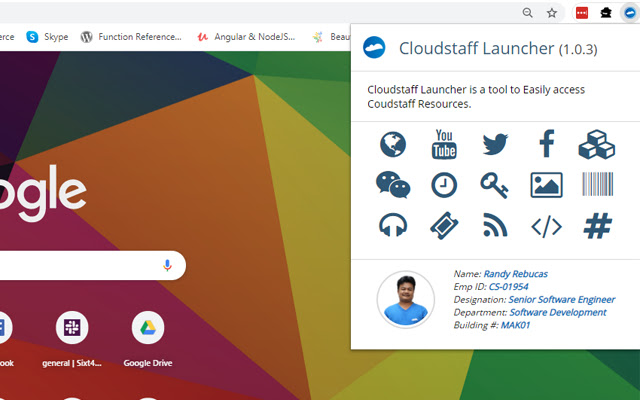 Cloudstaff Launcher