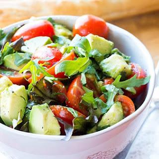 Spinach Tomato Avocado Salad Recipes.