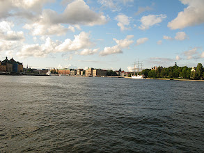 Photo: on a boat to the vasamuseet