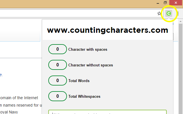 Counting Characters - #1 Letter & Word Count