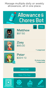Allowance & Chores Bot- screenshot thumbnail