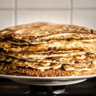 Big Flat Egg Pancakes Recipe