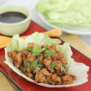 Copycat P.F. Chang's Chicken Lettuce Wraps.