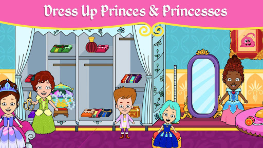 My Tizi Princess Town - Doll House Castle Game 2.0 screenshots 11