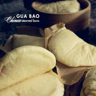Gua Bao or Chinese Steamed Buns.