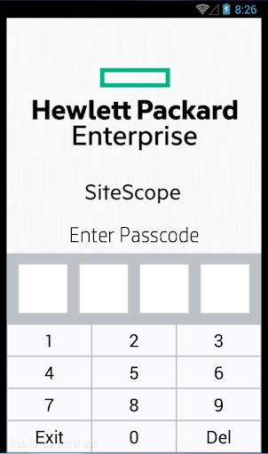 HPE SiteScope