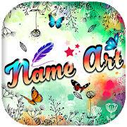 Name Art With Photos
