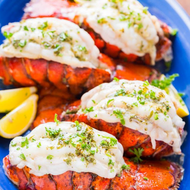Broiled Lobster Tails Recipe + How to Butterfly (VIDEO) Recipe