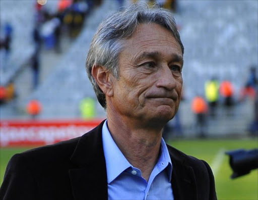 Muhsin Ertugral Ajax Cape Town head coach after the Absa Premiership match between Ajax Cape Town and Kaizer Chiefs at Cape Town Stadium on May 12, 2018 in Cape Town. Picture: Ashley Vlotman/Gallo Images
