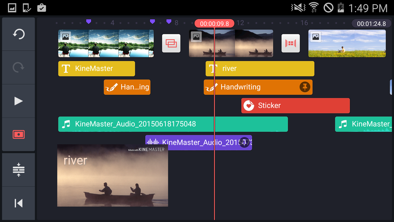 Kinemaster pro video editor android apps on google play kinemaster pro video editor screenshot ccuart Choice Image