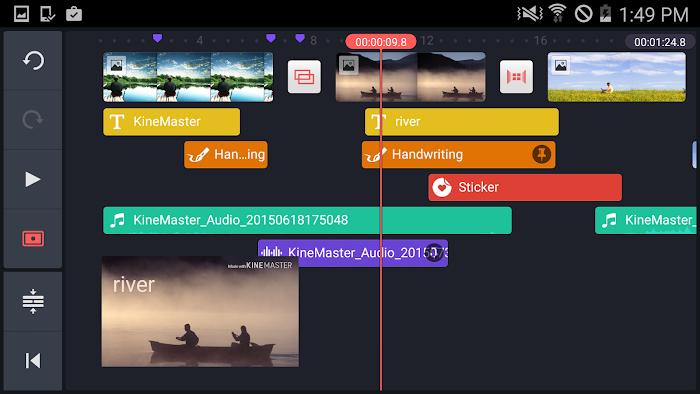 KineMaster – Pro Video Editor- screenshot