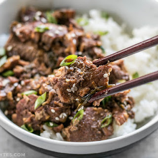 Slow Cooker Sesame Beef.