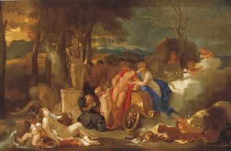 Photo: - Bacchanale au terme de Pan (avec Bacchus et Cérès) Budapest, musée des Beaux Arts - Sébastien Bourdon