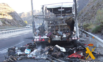 Detenidos con 70 kilos de droga en un incendio