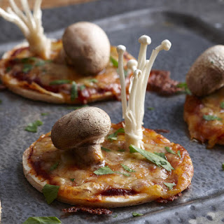 Artisanal Mushroom pizzas