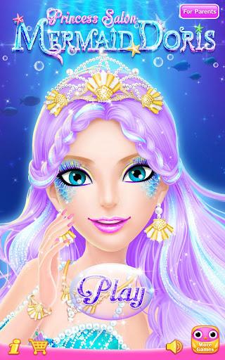 Princess Salon: Mermaid Doris  screenshots 11