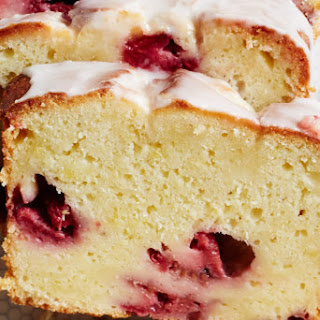 Lemon Raspberry Pound Cake