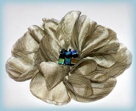 Photo: Цветы из органзы. Июнь 2012