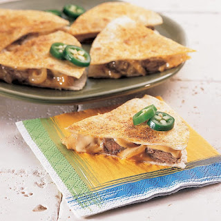 Philly Cheese Steak Quesadillas.