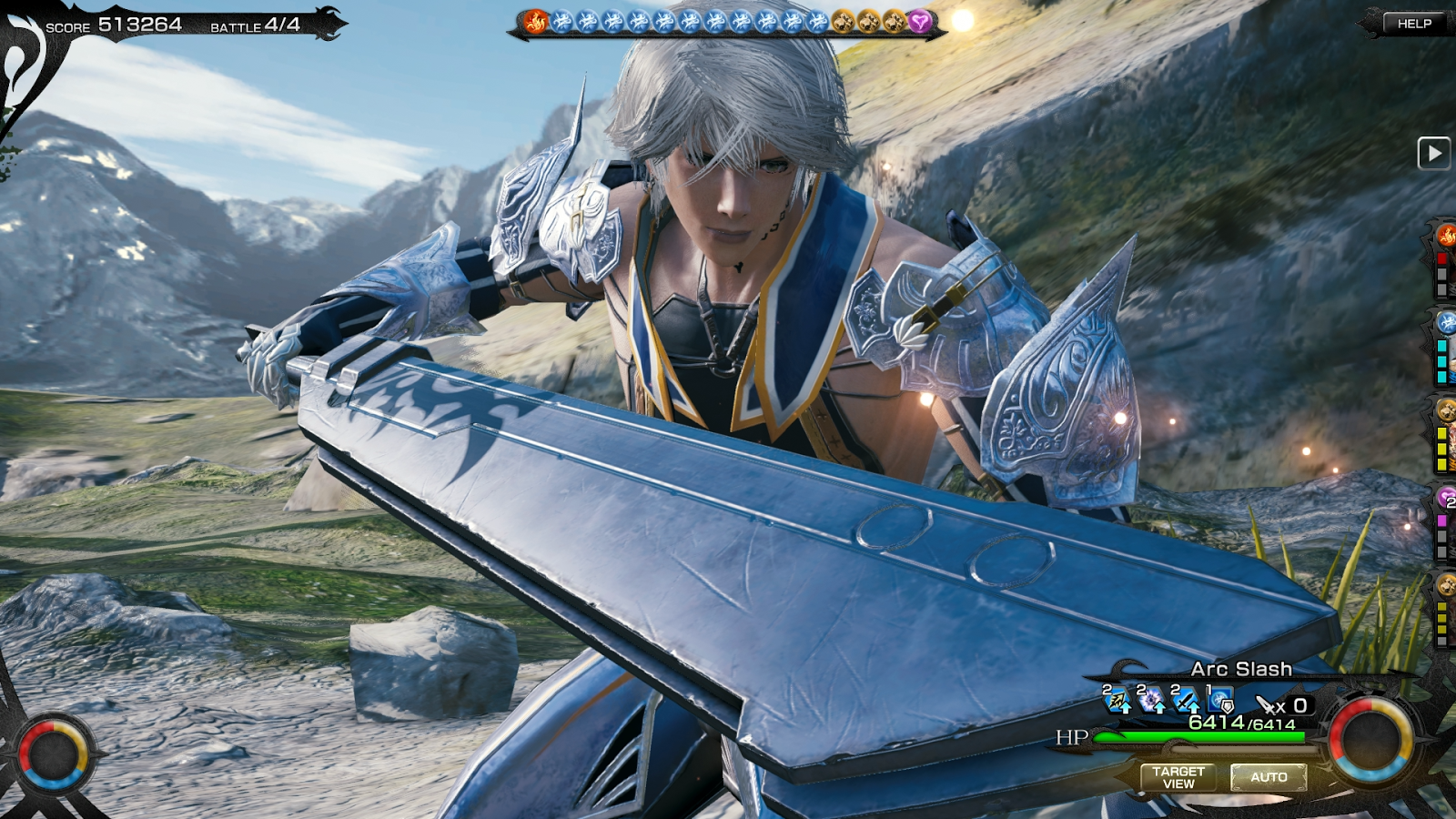 MOBIUS FINAL  FANTASY- screenshot