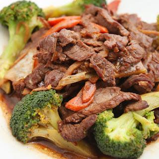 British Beef and Broccoli Stir Fry