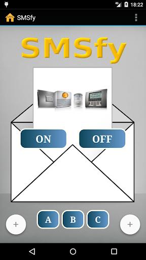 SMSfy alarme Somfy par SMS