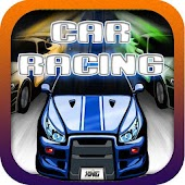 A Future Neon Car Racing Game