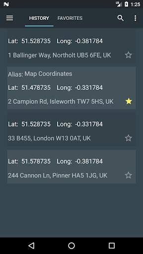 Map Coordinates 4.7.5 screenshots 4