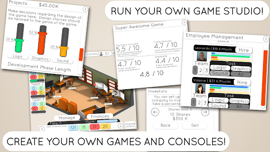 Game Studio Tycoon 2- screenshot thumbnail
