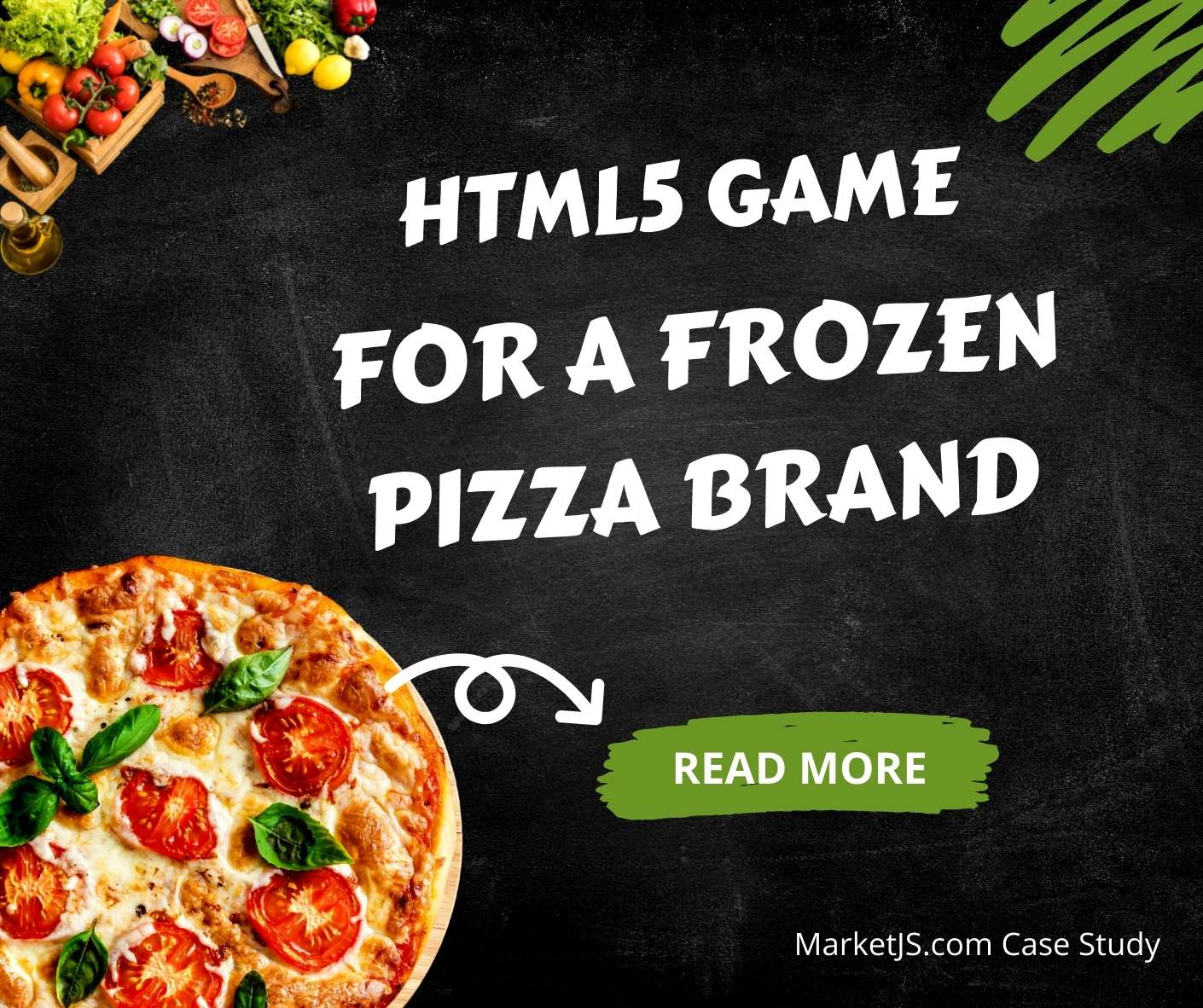HTML5 Game For Frozen Pizza