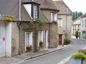 Photo: A typical street in the old part of town.