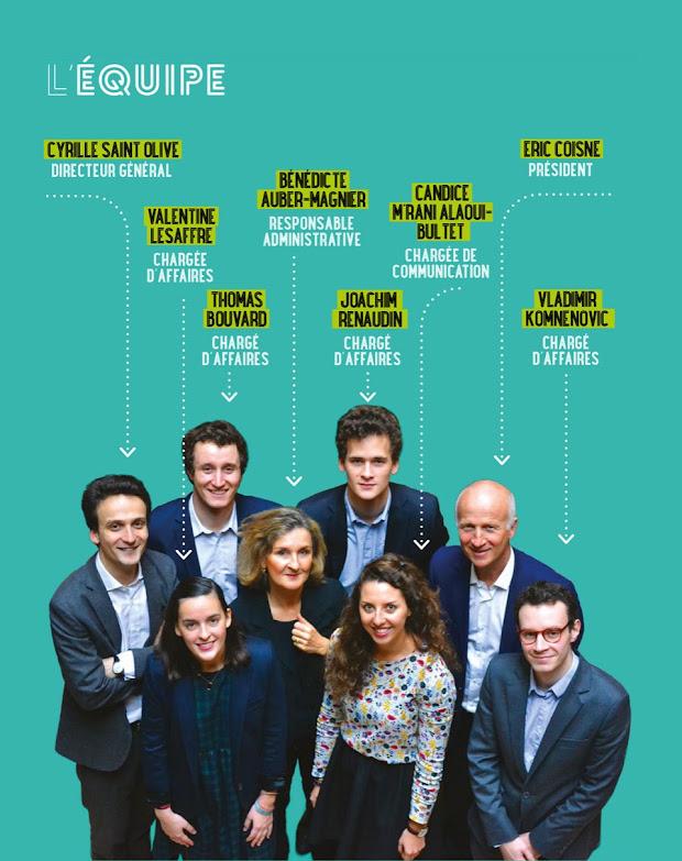Equipe Réseau Entreprendre Paris 1000