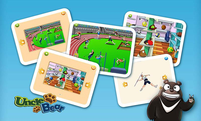 Kids Puzzle: Sports- screenshot
