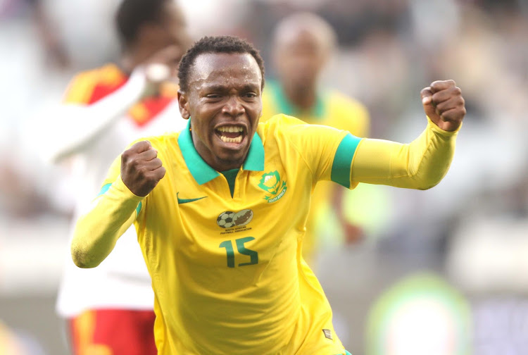 The Bafana Bafana midfielder, May Mahlangu. File photo