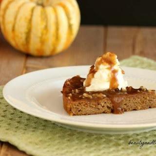 Creamy Caramel Pumpkin Cake