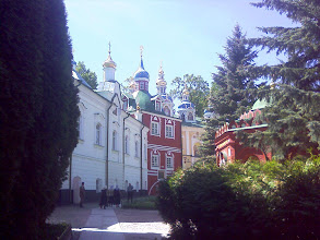 Photo: Вид на Благовещенский храм и братский корпус