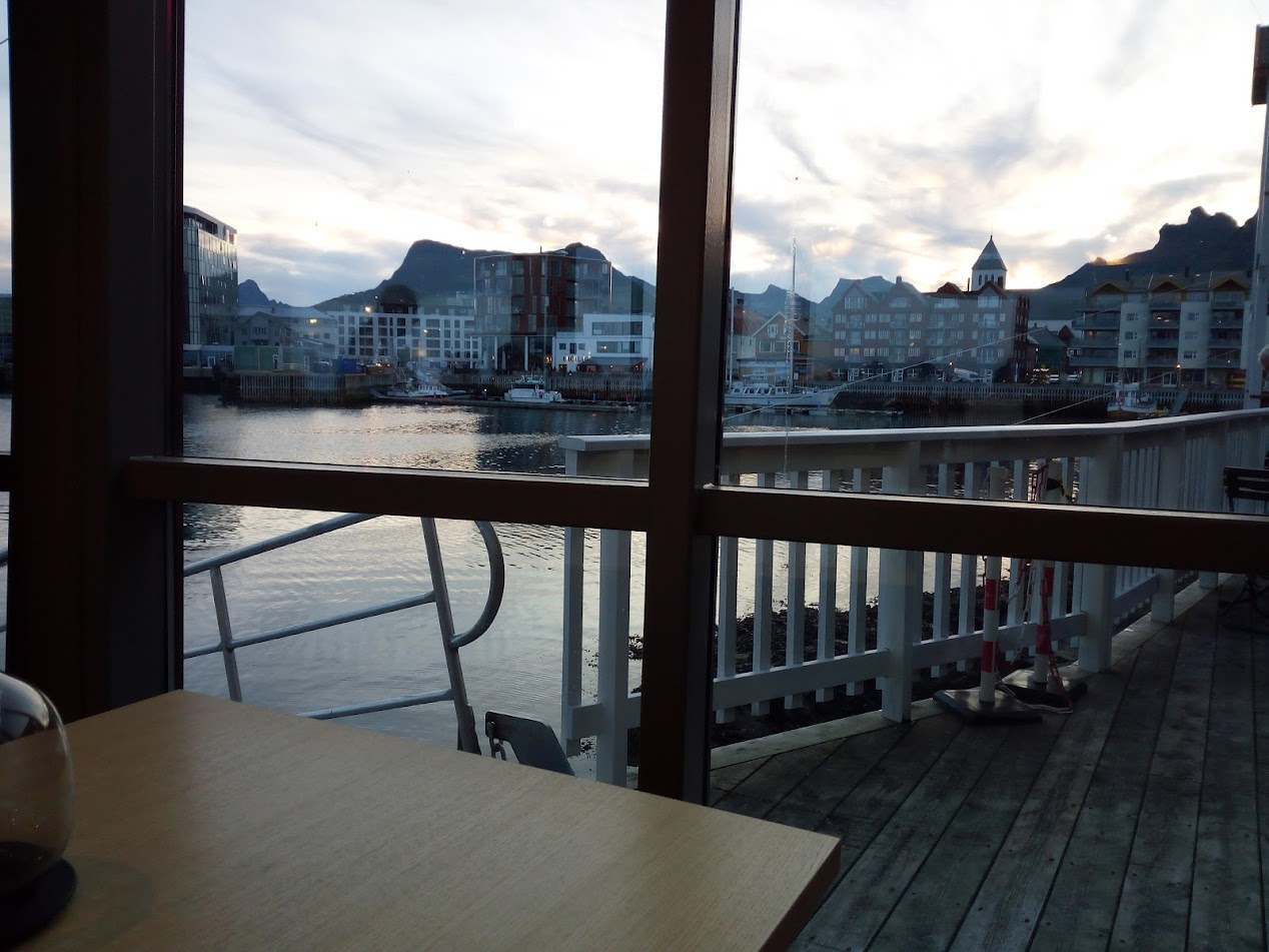But at least the view from the restaurant was quite nice…