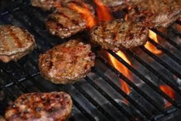 Fireman Bob's Fiery Buffalo Burgers Recipe