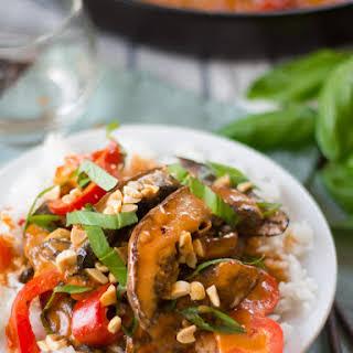 Portobello Panang Curry.