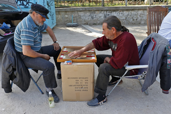il gioco in Grecia di SALVATORE PETRENGA