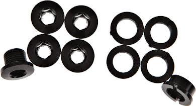 Problem Solvers Single Chainring Bolts Black Alloy alternate image 1