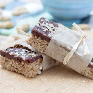 Chocolate Peanut Butter Banana Oatmeal Bars Recipe