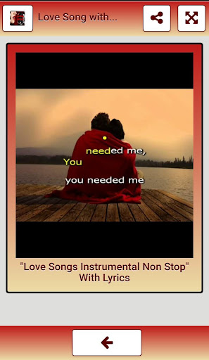 Songs Of Love With Lyrics Apk Download 13