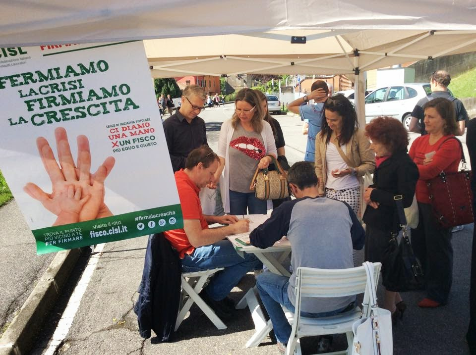 Photo: #FirmaLaCrescita a Zogno