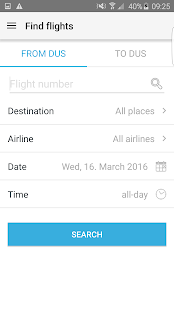 DUS Airport App- screenshot thumbnail