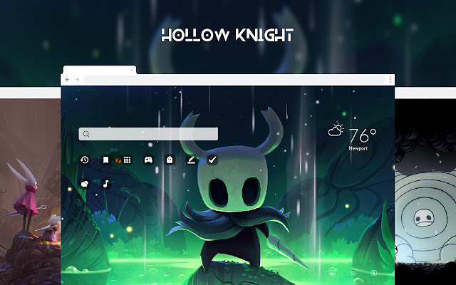 Hollow Knight HD Wallpapers New Tab