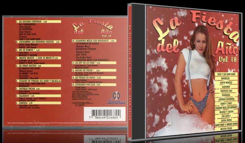 Varios Artistas - La Fiesta Del Año Vol. 18 (1996) [MP3 @320 Kbps]