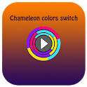 Chameleon colors switch icon